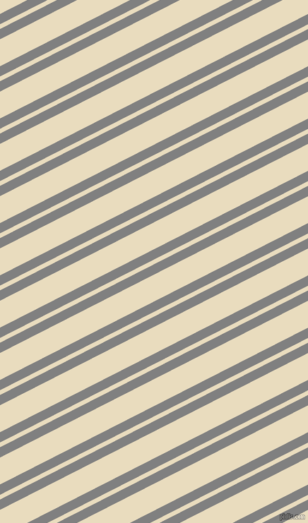 27 degree angle dual stripes line, 13 pixel line width, 6 and 34 pixel line spacing, Grey and Double Pearl Lusta dual two line striped seamless tileable