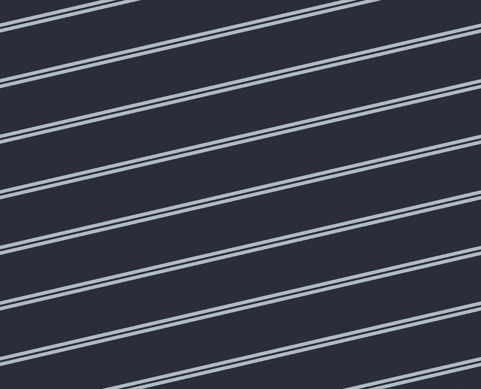 13 degree angles dual stripe line, 7 pixel line width, 4 and 91 pixels line spacing, Heather and Black Rock dual two line striped seamless tileable