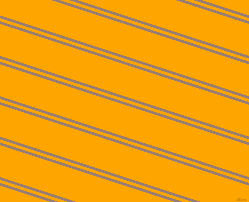 162 degree angle dual stripes lines, 9 pixel lines width, 10 and 105 pixel line spacing, Hemp and Orange dual two line striped seamless tileable
