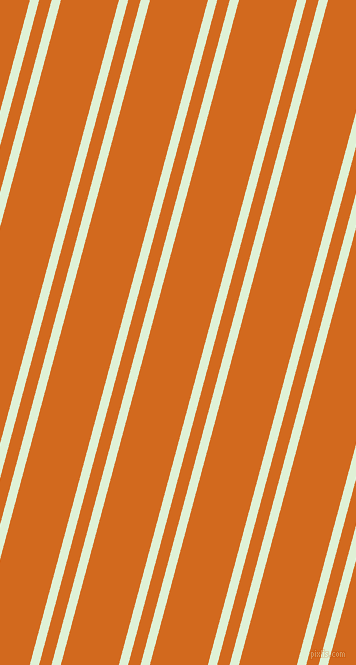 75 degree angle dual stripes line, 9 pixel line width, 12 and 56 pixel line spacing, Hint Of Green and Chocolate dual two line striped seamless tileable