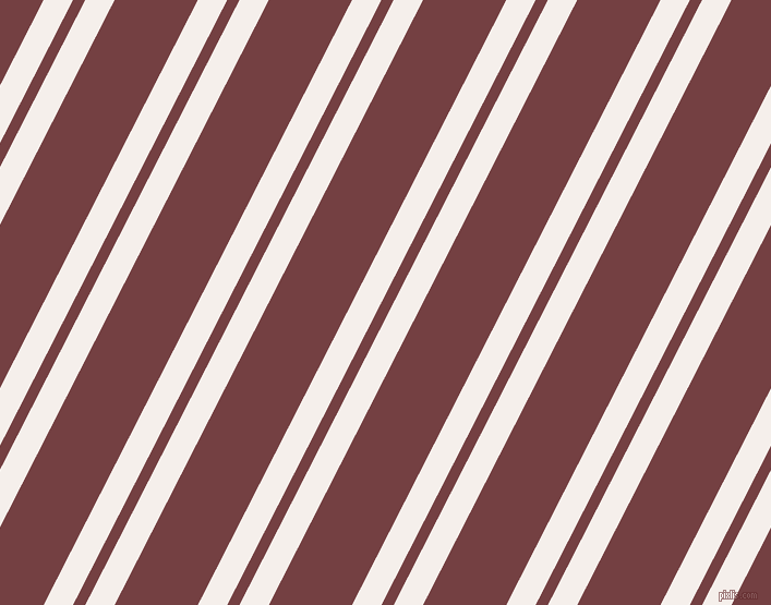63 degree angle dual stripes line, 24 pixel line width, 10 and 68 pixel line spacing, Hint Of Red and Tosca dual two line striped seamless tileable