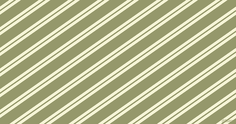 35 degree angles dual striped lines, 9 pixel lines width, 4 and 33 pixels line spacing, Hint Of Yellow and Avocado dual two line striped seamless tileable