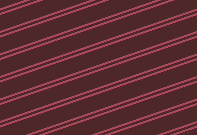 19 degree angles dual striped lines, 7 pixel lines width, 8 and 53 pixels line spacing, Hippie Pink and Volcano dual two line striped seamless tileable