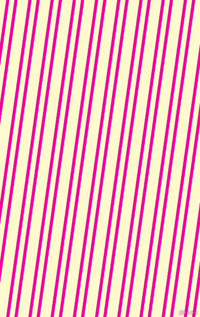 82 degree angles dual stripes line, 6 pixel line width, 10 and 21 pixels line spacing, Hollywood Cerise and Lemon Chiffon dual two line striped seamless tileable