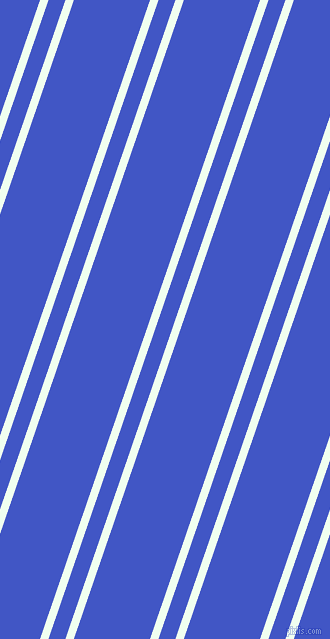 71 degree angles dual stripes lines, 8 pixel lines width, 16 and 72 pixels line spacing, Honeydew and Free Speech Blue dual two line striped seamless tileable