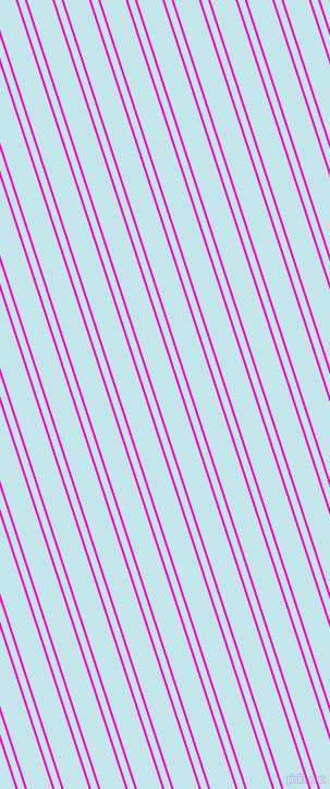 108 degree angle dual striped line, 2 pixel line width, 6 and 22 pixel line spacing, Hot Magenta and Onahau dual two line striped seamless tileable