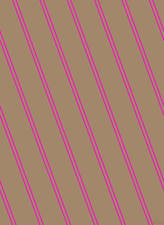 110 degree angle dual stripes line, 3 pixel line width, 8 and 74 pixel line spacingHot Magenta and Sandal dual two line striped seamless tileable