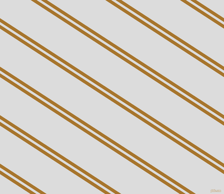 147 degree angles dual stripe line, 11 pixel line width, 8 and 109 pixels line spacing, Hot Toddy and Gainsboro dual two line striped seamless tileable