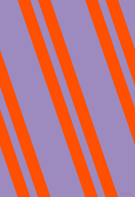 109 degree angle dual stripes line, 39 pixel line width, 24 and 108 pixel line spacing, International Orange and Cold Purple dual two line striped seamless tileable
