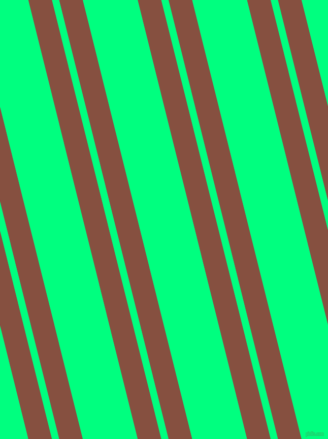 104 degree angles dual stripes lines, 45 pixel lines width, 14 and 105 pixels line spacing, Ironstone and Spring Green dual two line striped seamless tileable
