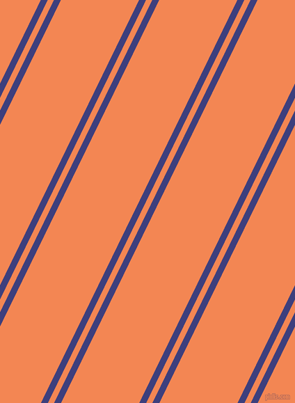 64 degree angle dual stripes lines, 9 pixel lines width, 8 and 101 pixel line spacing, Jacksons Purple and Crusta dual two line striped seamless tileable