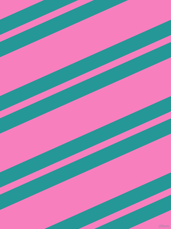 24 degree angles dual striped line, 48 pixel line width, 22 and 122 pixels line spacing, Java and Persian Pink dual two line striped seamless tileable