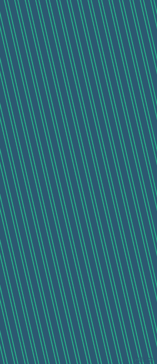 103 degree angle dual stripes line, 2 pixel line width, 4 and 12 pixel line spacing, Jungle Green and Chathams Blue dual two line striped seamless tileable