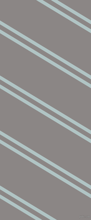 149 degree angle dual stripes line, 11 pixel line width, 14 and 119 pixel line spacing, Jungle Mist and Suva Grey dual two line striped seamless tileable