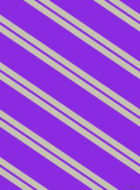 146 degree angles dual stripes line, 21 pixel line width, 8 and 87 pixels line spacing, Kangaroo and Blue Violet dual two line striped seamless tileable