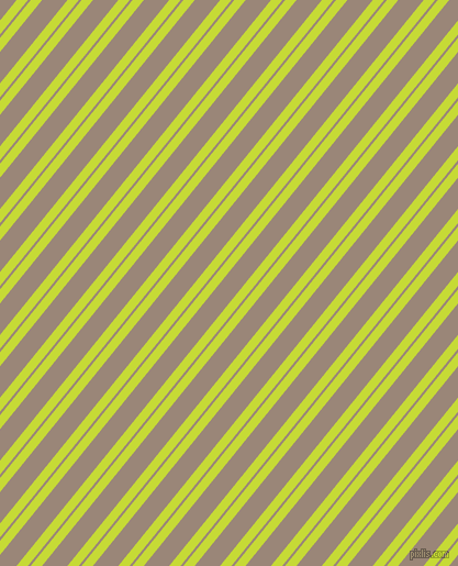 51 degree angles dual stripe line, 8 pixel line width, 2 and 18 pixels line spacing, Las Palmas and Almond Frost dual two line striped seamless tileable