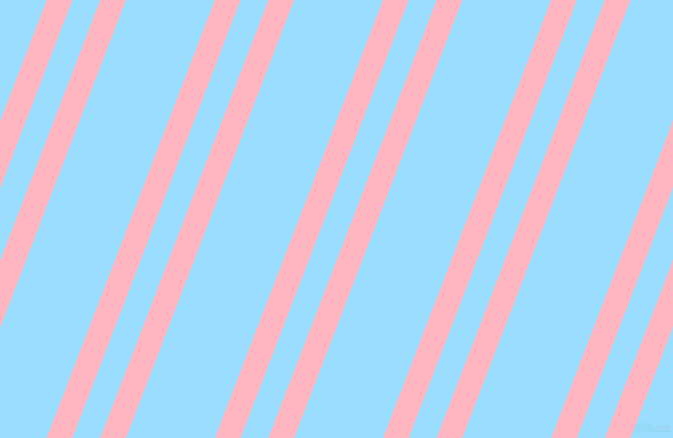 69 degree angle dual stripes line, 24 pixel line width, 26 and 83 pixel line spacing, Light Pink and Columbia Blue dual two line striped seamless tileable
