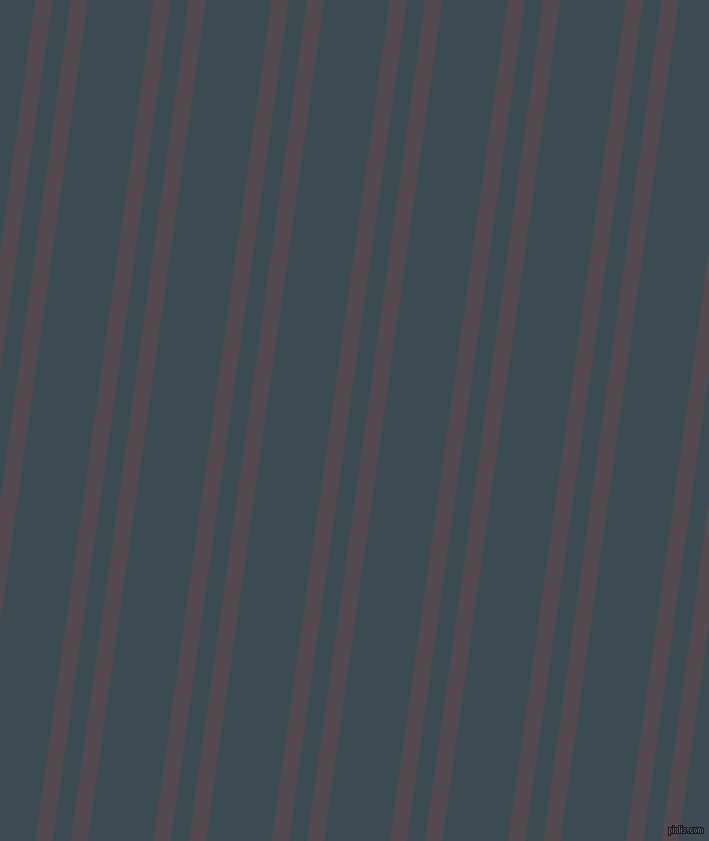 82 degree angles dual stripes line, 17 pixel line width, 18 and 65 pixels line spacing, Liver and Atomic dual two line striped seamless tileable