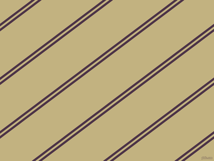 37 degree angles dual stripe line, 7 pixel line width, 6 and 120 pixels line spacing, Loulou and Ecru dual two line striped seamless tileable