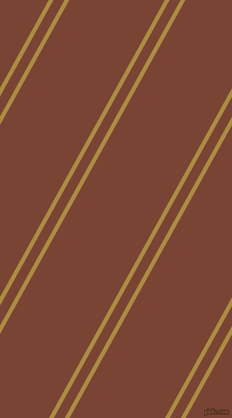 61 degree angle dual striped lines, 6 pixel lines width, 14 and 121 pixel line spacing, Luxor Gold and Peanut dual two line striped seamless tileable
