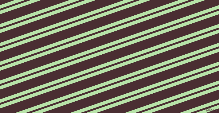 19 degree angles dual striped line, 11 pixel line width, 6 and 30 pixels line spacing, Madang and Cab Sav dual two line striped seamless tileable