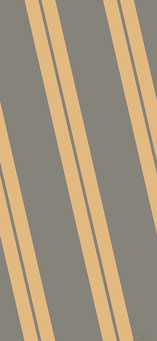 103 degree angle dual stripe line, 27 pixel line width, 6 and 93 pixel line spacing, Maize and Friar Grey dual two line striped seamless tileable