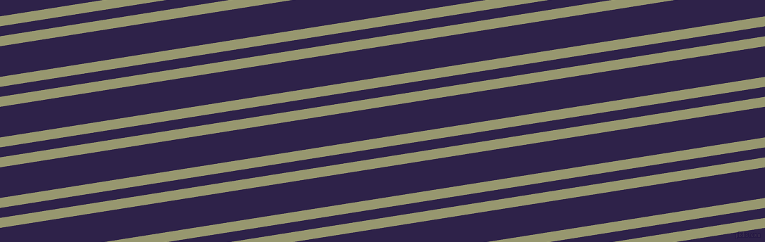9 degree angles dual stripes lines, 14 pixel lines width, 14 and 43 pixels line spacing, Malachite Green and Violent Violet dual two line striped seamless tileable