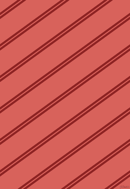36 degree angles dual stripes lines, 8 pixel lines width, 4 and 78 pixels line spacing, Mandarian Orange and Roman dual two line striped seamless tileable