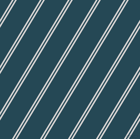 59 degree angle dual stripe lines, 5 pixel lines width, 4 and 65 pixel line spacing, Mercury and Teal Blue dual two line striped seamless tileable