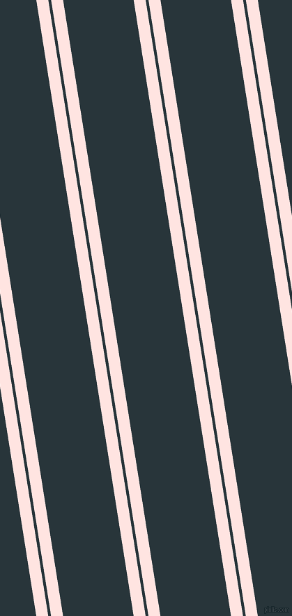 99 degree angles dual striped lines, 17 pixel lines width, 4 and 100 pixels line spacing, Misty Rose and Oxford Blue dual two line striped seamless tileable