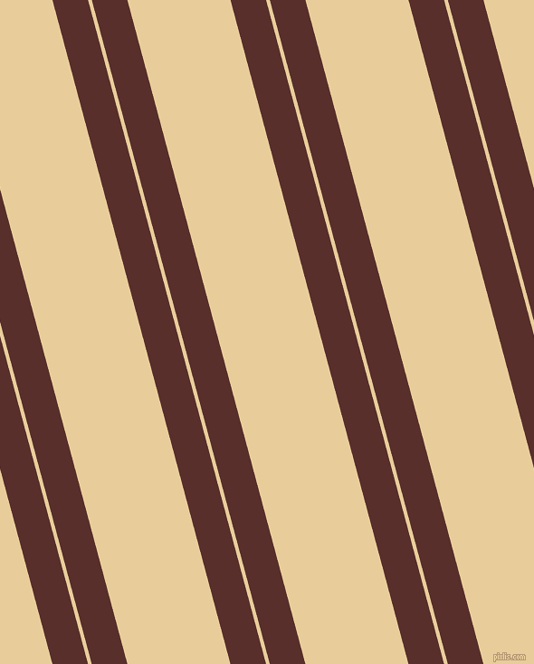 105 degree angles dual stripes lines, 38 pixel lines width, 4 and 110 pixels line spacing, Moccaccino and Chamois dual two line striped seamless tileable