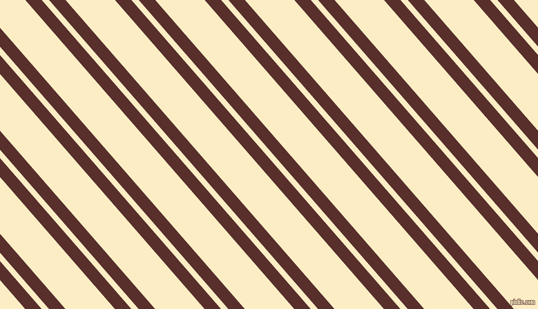 131 degree angle dual stripes lines, 18 pixel lines width, 8 and 54 pixel line spacing, Moccaccino and Oasis dual two line striped seamless tileable