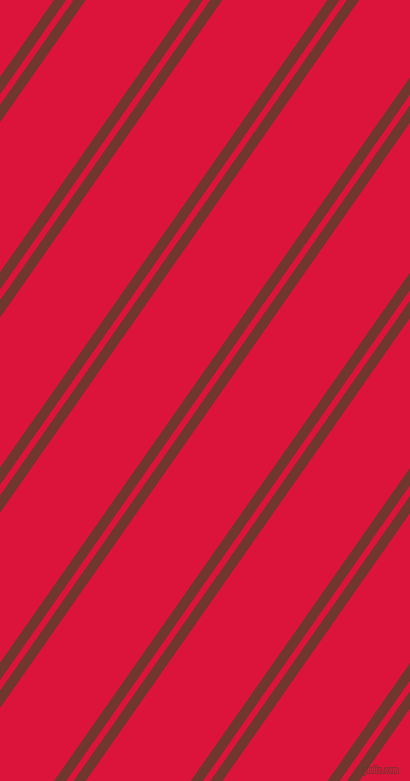 55 degree angles dual stripes lines, 10 pixel lines width, 6 and 86 pixels line spacing, Mocha and Crimson dual two line striped seamless tileable