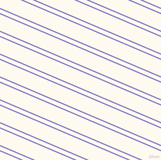 157 degree angle dual striped lines, 4 pixel lines width, 12 and 51 pixel line spacing, Moody Blue and Floral White dual two line striped seamless tileable