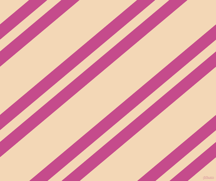 40 degree angles dual stripes line, 39 pixel line width, 30 and 123 pixels line spacing, Mulberry and Pink Lady dual two line striped seamless tileable