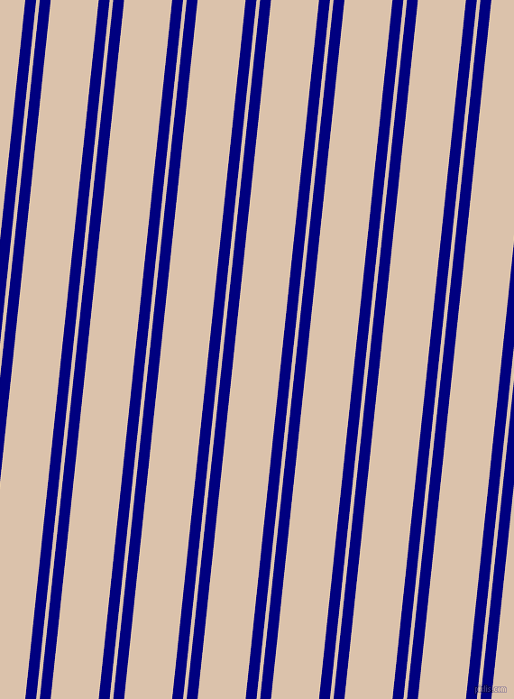 84 degree angles dual stripes line, 12 pixel line width, 4 and 53 pixels line spacing, Navy and Bone dual two line striped seamless tileable