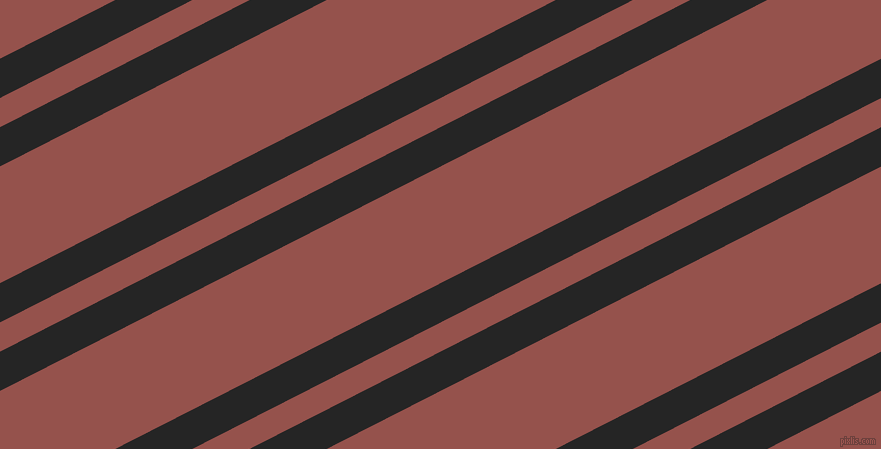 27 degree angle dual stripes lines, 35 pixel lines width, 26 and 104 pixel line spacing, Nero and Copper Rust dual two line striped seamless tileable