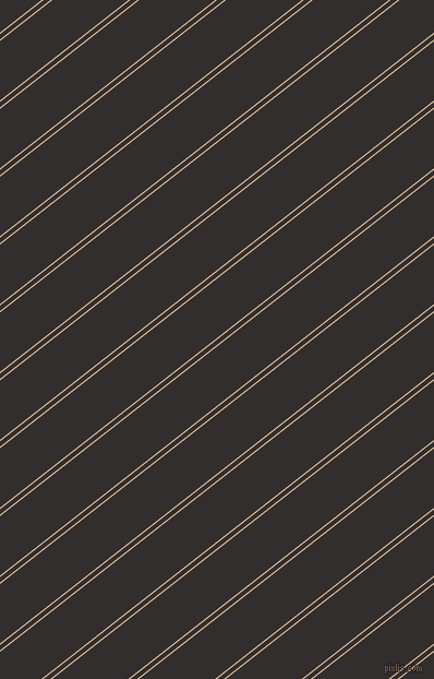 38 degree angle dual striped line, 1 pixel line width, 4 and 43 pixel line spacing, New Tan and Night Rider dual two line striped seamless tileable