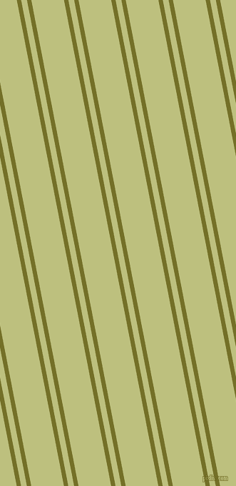 101 degree angles dual stripes line, 6 pixel line width, 8 and 45 pixels line spacing, Olivetone and Pine Glade dual two line striped seamless tileable