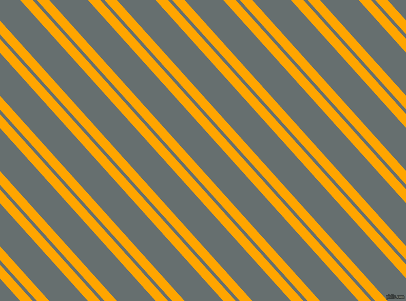 132 degree angle dual striped line, 18 pixel line width, 6 and 56 pixel line spacing, Orange and Nevada dual two line striped seamless tileable