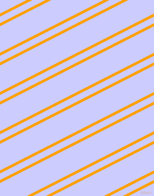 27 degree angles dual striped line, 9 pixel line width, 20 and 80 pixels line spacingOrange Peel and Lavender Blue dual two line striped seamless tileable