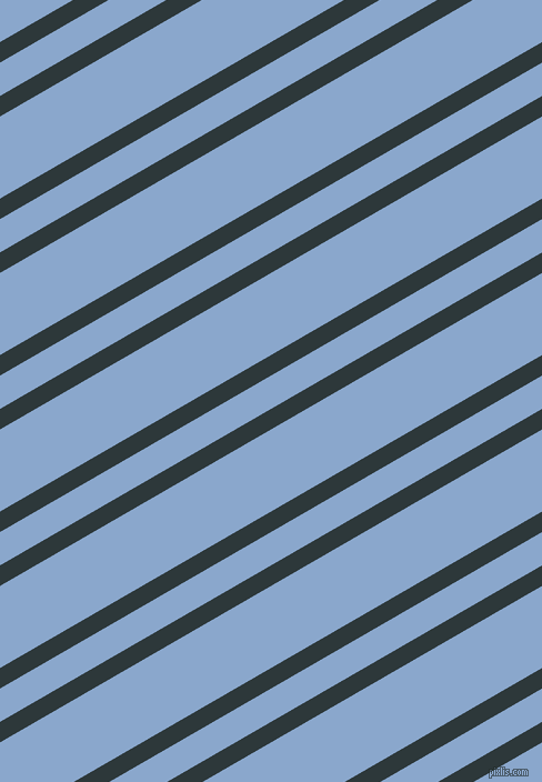 30 degree angle dual stripes line, 16 pixel line width, 26 and 64 pixel line spacing, Outer Space and Polo Blue dual two line striped seamless tileable