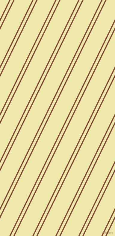64 degree angle dual striped lines, 4 pixel lines width, 8 and 53 pixel line spacing, Paarl and Pale Goldenrod dual two line striped seamless tileable