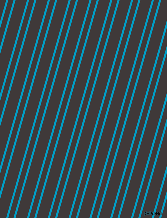 74 degree angle dual stripe line, 4 pixel line width, 10 and 22 pixel line spacing, Pacific Blue and Eclipse dual two line striped seamless tileable
