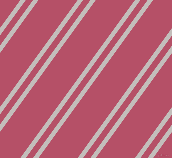 54 degree angles dual stripes lines, 15 pixel lines width, 20 and 108 pixels line spacing, Pale Slate and Blush dual two line striped seamless tileable