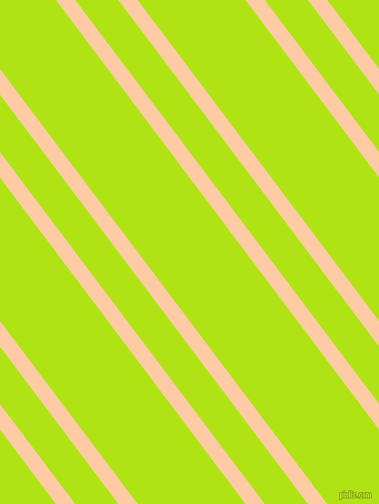 127 degree angle dual striped line, 17 pixel line width, 38 and 95 pixel line spacing, Peach and Inch Worm dual two line striped seamless tileable