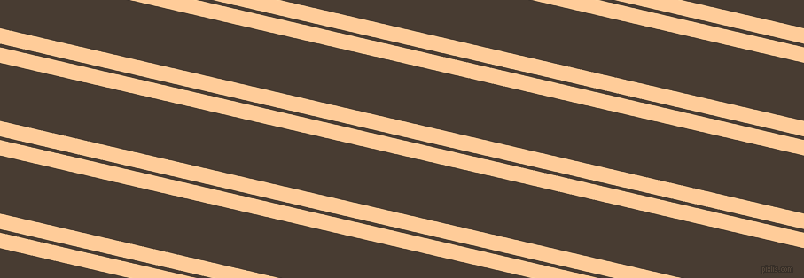 167 degree angles dual stripe line, 17 pixel line width, 4 and 64 pixels line spacing, Peach-Orange and Taupe dual two line striped seamless tileable