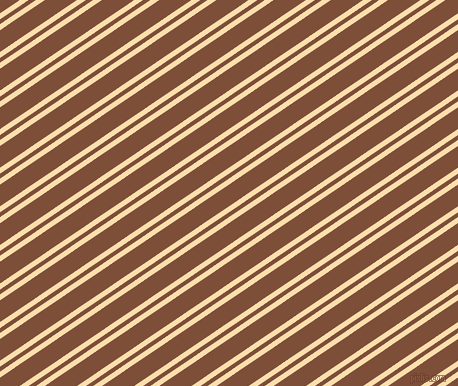 34 degree angle dual stripe line, 5 pixel line width, 4 and 18 pixel line spacing, Peach-Yellow and Cigar dual two line striped seamless tileable