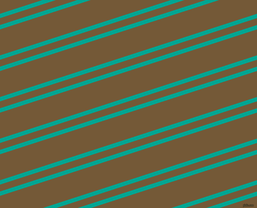 18 degree angles dual striped lines, 14 pixel lines width, 22 and 83 pixels line spacing, Persian Green and Shingle Fawn dual two line striped seamless tileable