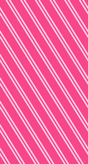 122 degree angle dual stripes lines, 6 pixel lines width, 6 and 34 pixel line spacing, Pig Pink and Violet Red dual two line striped seamless tileable